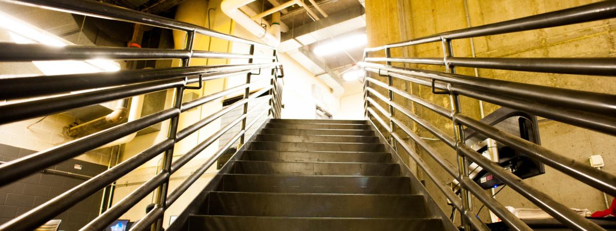 Digital Commons eastern stairs